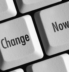 Change now - kreativer Wandel