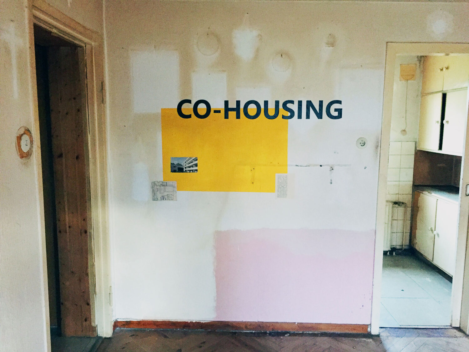 Co Living Lab – Zeile Rot